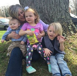 Missy with her grandchildren