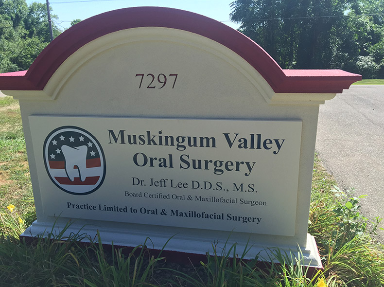 Muskingum Valley Oral Surgery Sign