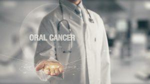 oral cancer concept